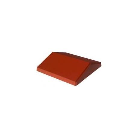 Daszek polimerobetonowy dwuspadowy 31 x 80 ceglasty
