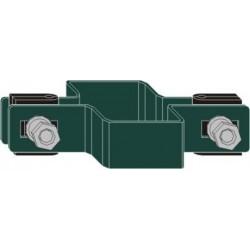 Obejma panelowa pośrednia D5  RAL 6005