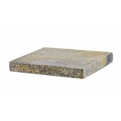 Daszek betonowy płaski dwustronnie łupany JN7