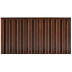 Ogrodzenie drewniane VERTIC M1 panel