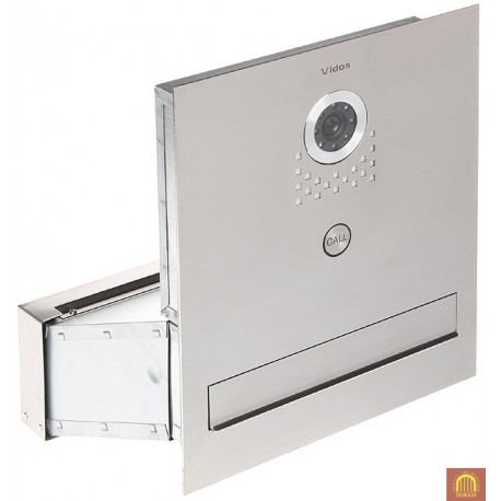 Skrzynka na listy z widedomofonem S551-SKM - VIDOS