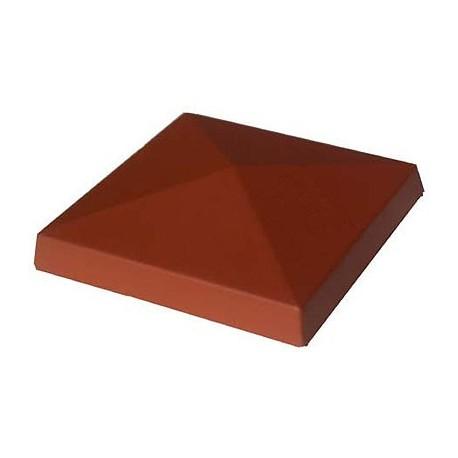 Daszek polimerobetonowy czterospadowy 56 x 56 ceglasty
